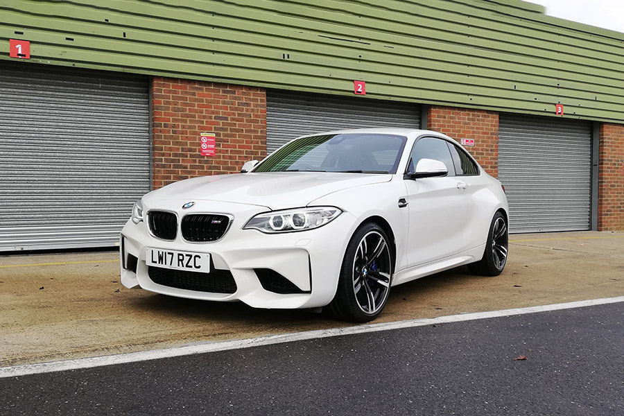 BMW M2 track day hire